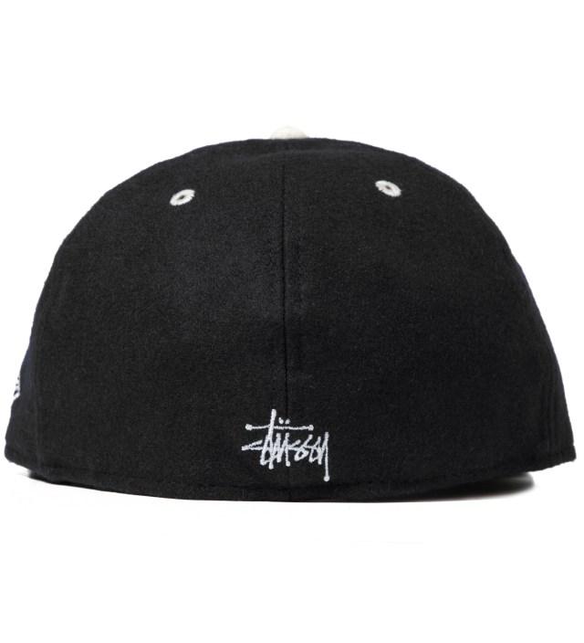 Stussy Black Melton Old S New Era Cap
