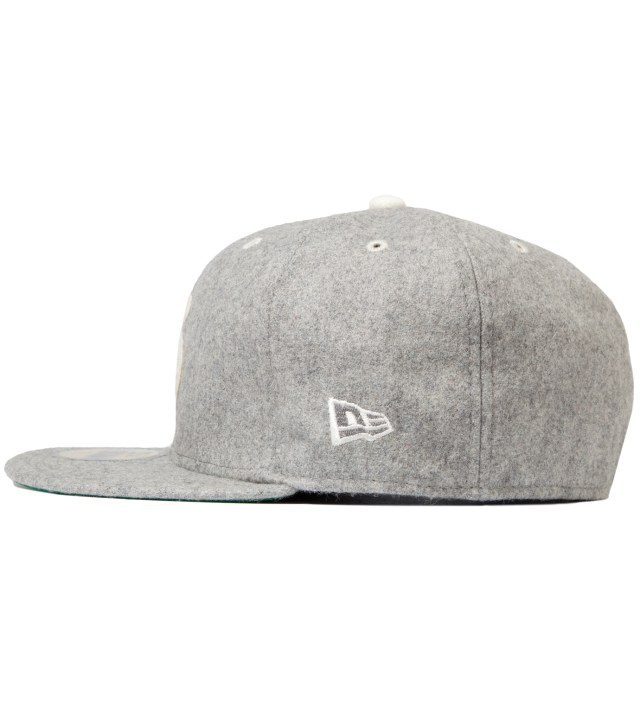Stussy Heather Grey Melton Old S New Era Cap