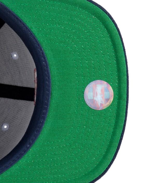 Stussy Navy Melton College Starter Ballcap