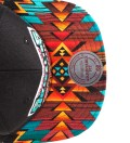 The Genesis Project Vancouver Grizzlies Blue Navajo Strap-Back Hat