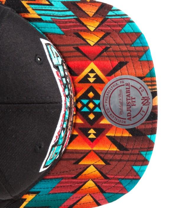 The Genesis Project San Antonio Spurs Teal Navajo Strap-Back Cap
