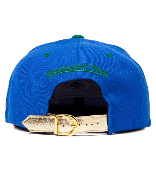 The Genesis Project Seattle Seahawks Blue Navajo Strap-Back Cap