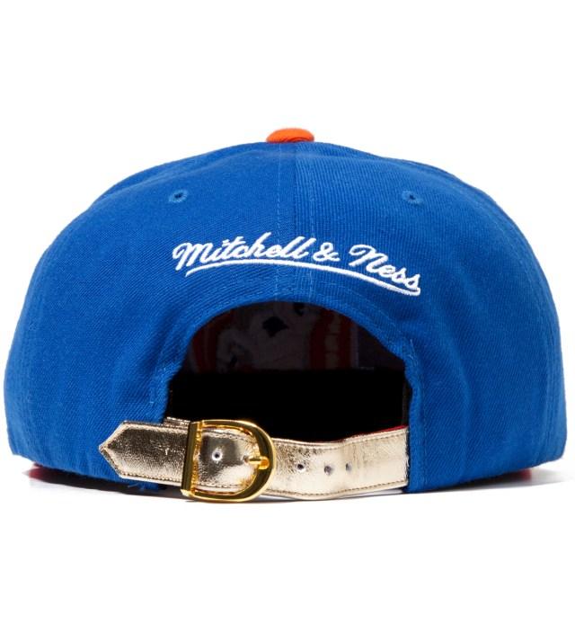 The Genesis Project Denver Broncos Blue Navajo Strap-Back Cap