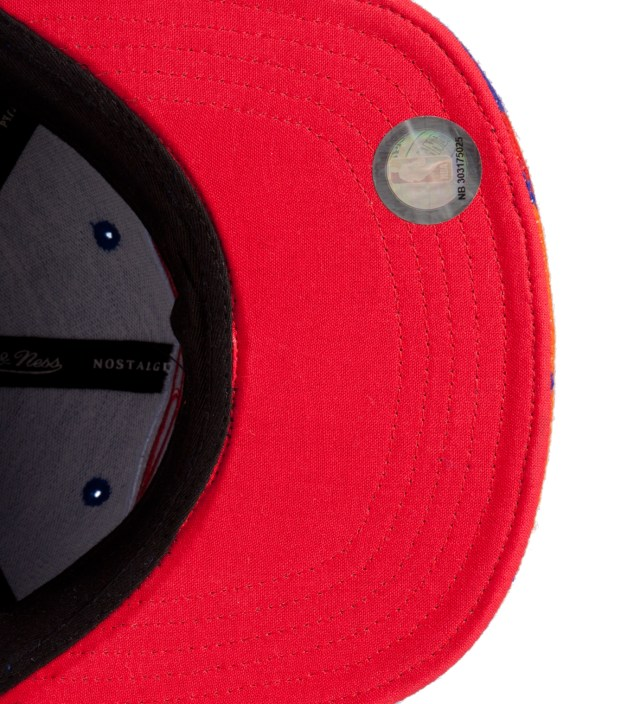 The Genesis Project Los Angeles Clippers Blue Navajo Strap-Back Cap