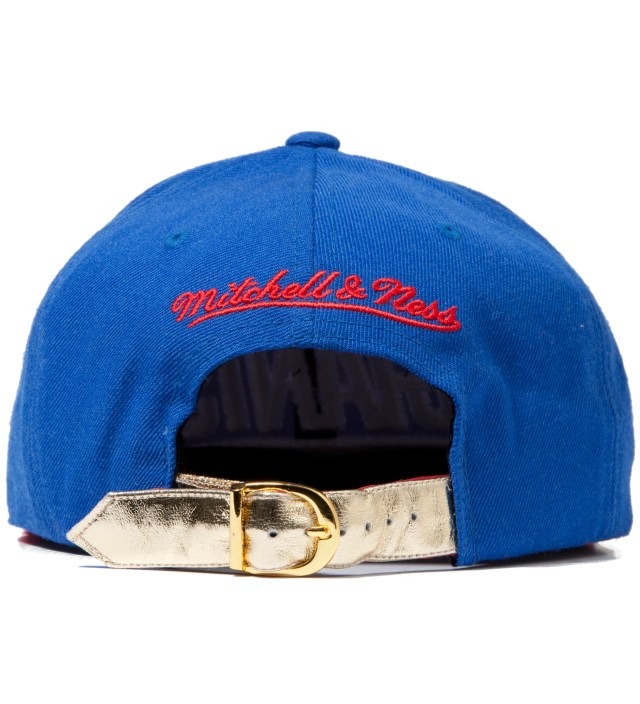 The Genesis Project New York Giants Blue Navajo Strap-Back Cap