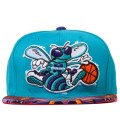 The Genesis Project Charlotte Hornets Purple Navajo Strap-Back Cap