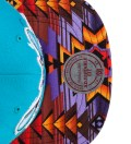 The Genesis Project Charlotte Hornets Purple Navajo Strap-Back Cap