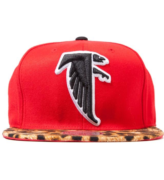 The Genesis Project Atlanta Falcons Cheetah Strap-Back Cap