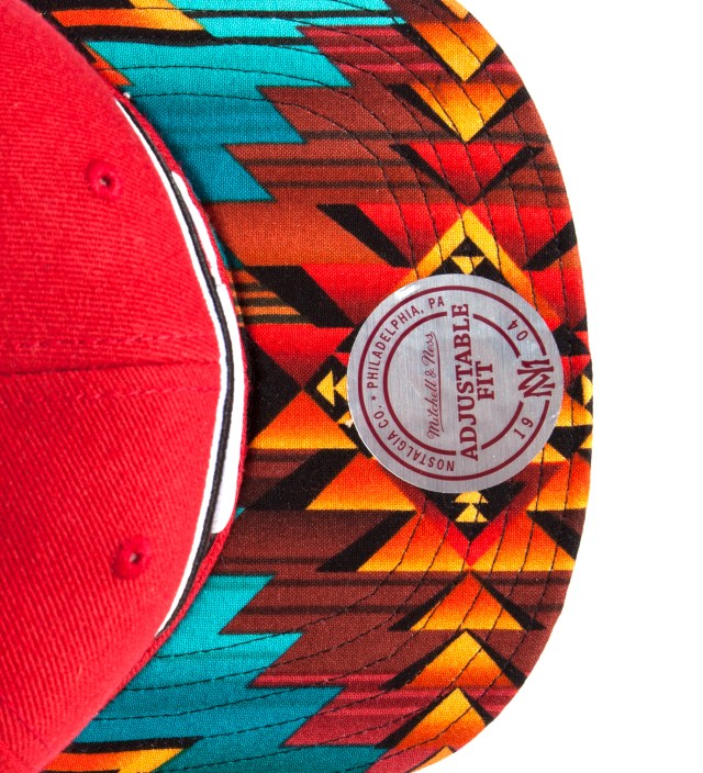 The Genesis Project San Francisco 49ers Teal Navajo Strap-Back Cap