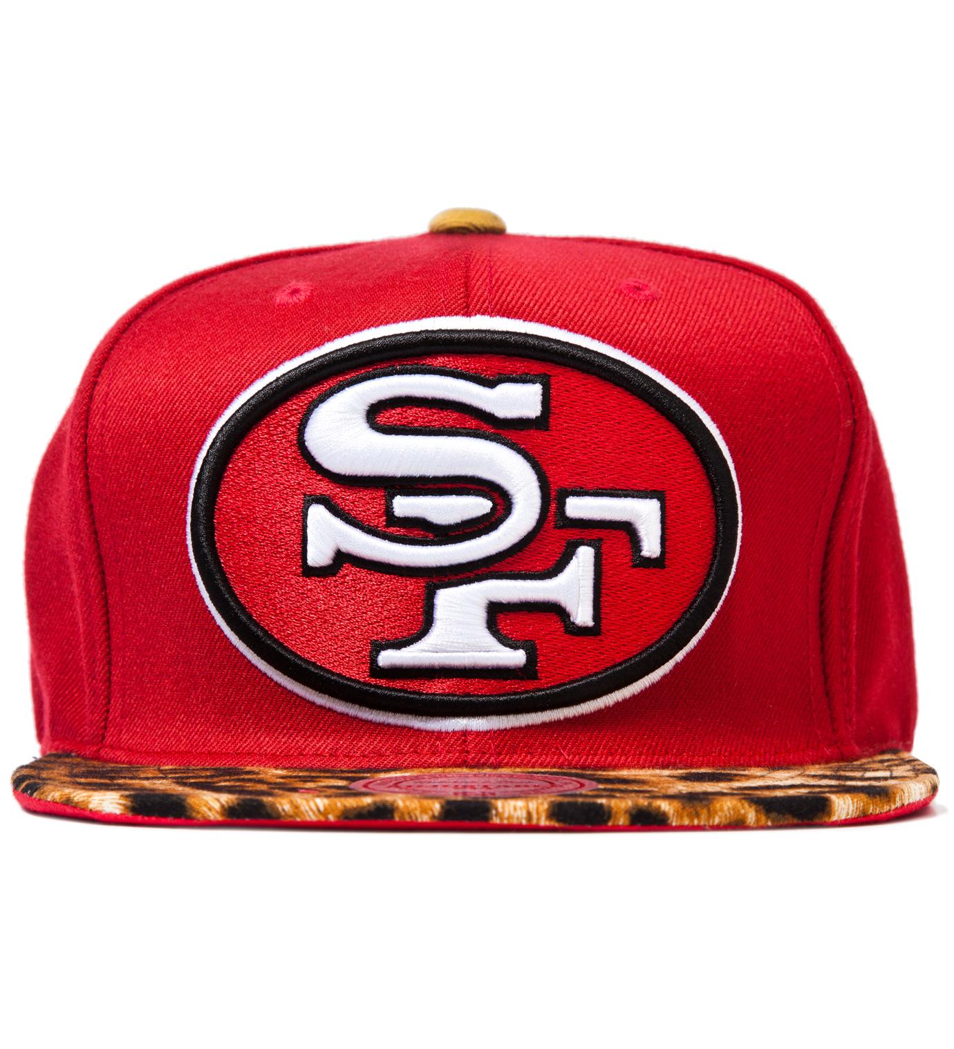 The Genesis Project San Francisco 49ers Cheetah Strap-Back Cap