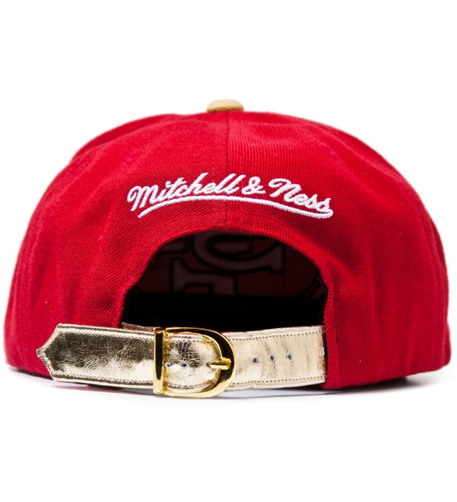 The Genesis Project San Francisco 49ers Cheetah Strap-Back Cap