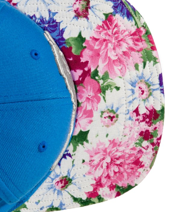 The Genesis Project Detroit Lions Floral Strap-Back Cap