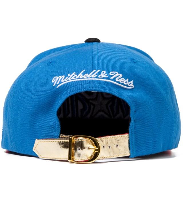 The Genesis Project Orlando Magic Blue Navajo Strap-Back Cap
