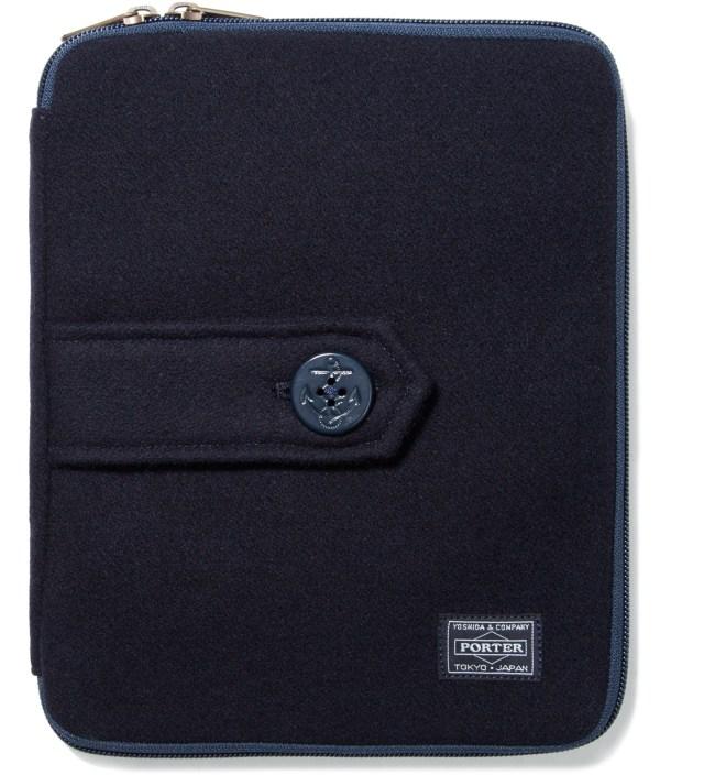 Head Porter Head Porter x Dr. Romanelli Black iPad Peacoat Case