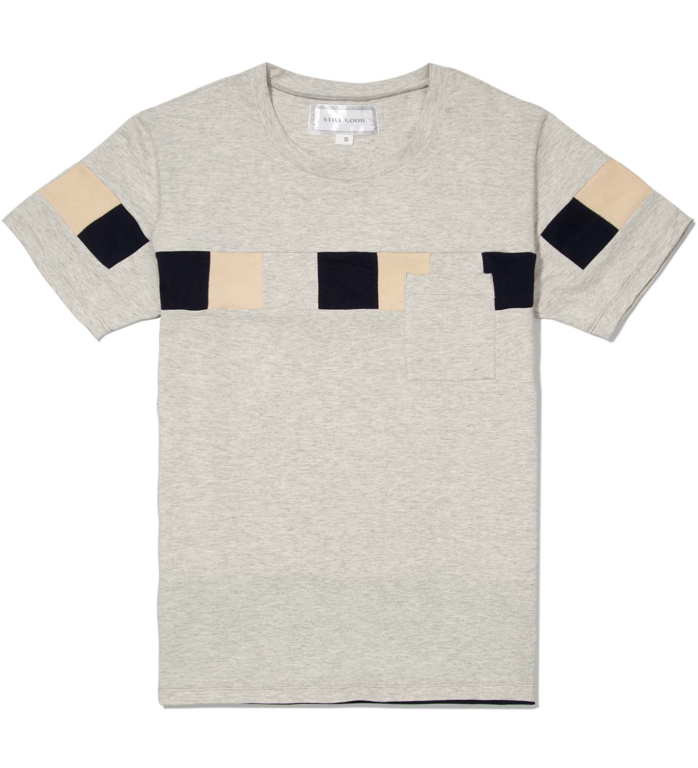 Still Good Light Grey Melange Resource T-Shirt