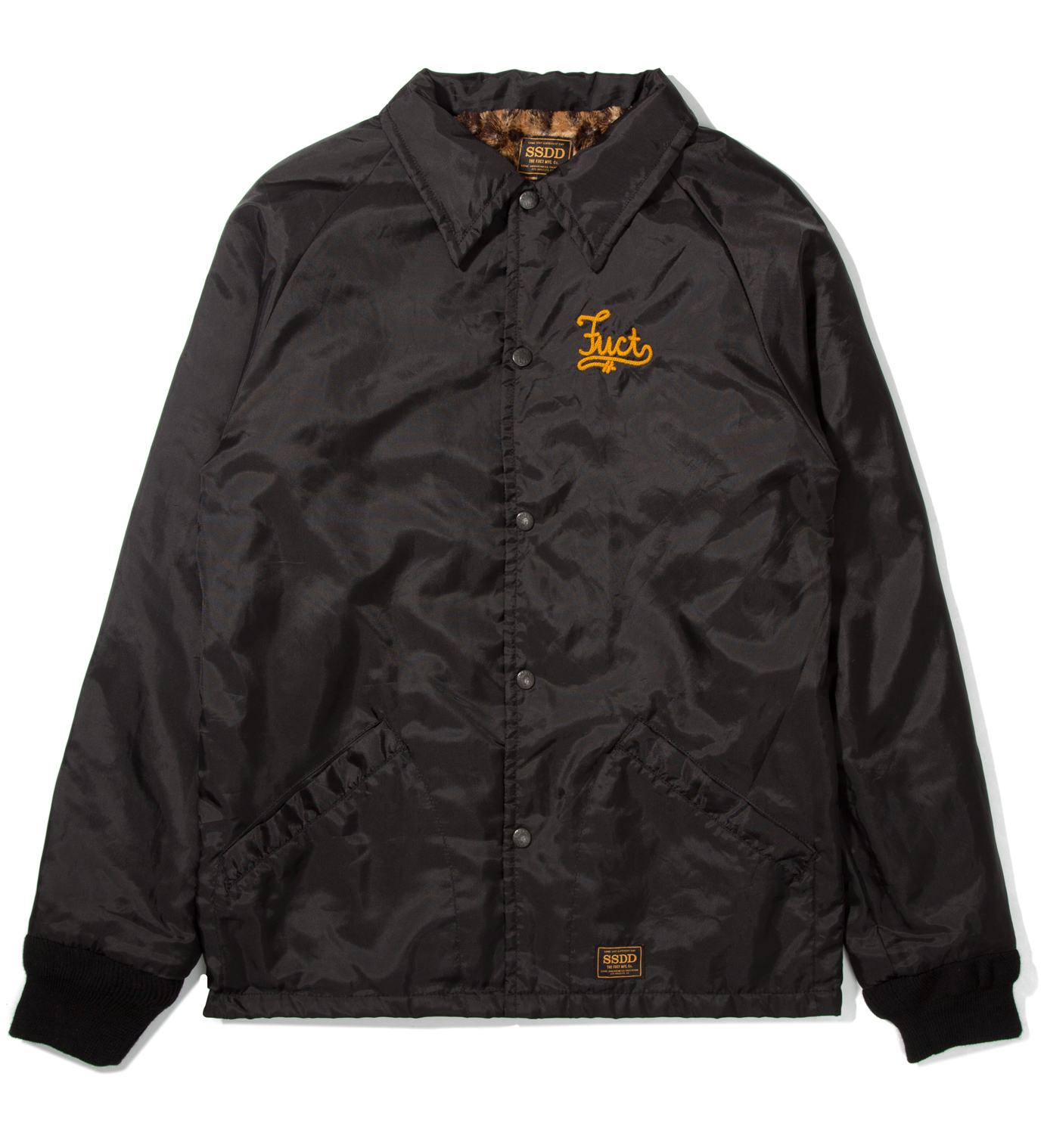 FUCT SSDD Black FUCT Co. Windbreaker