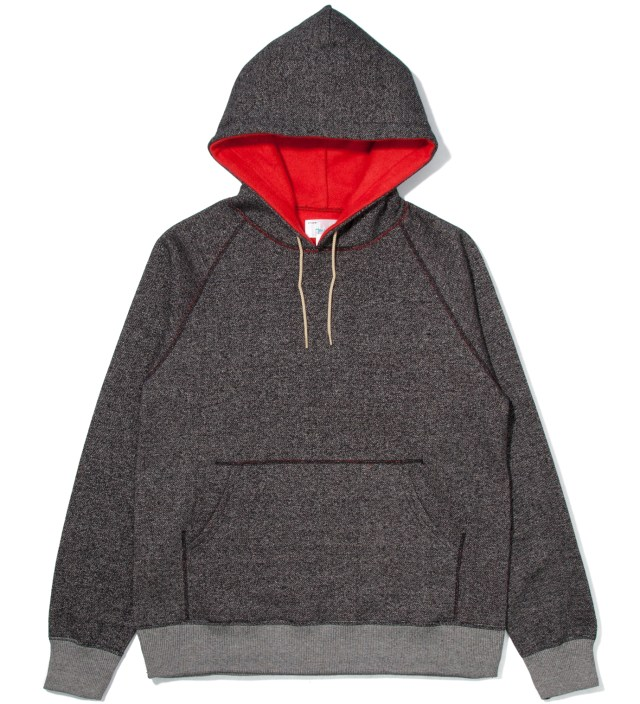 Hombre Nino Charcoal Reversible Pullover Parka