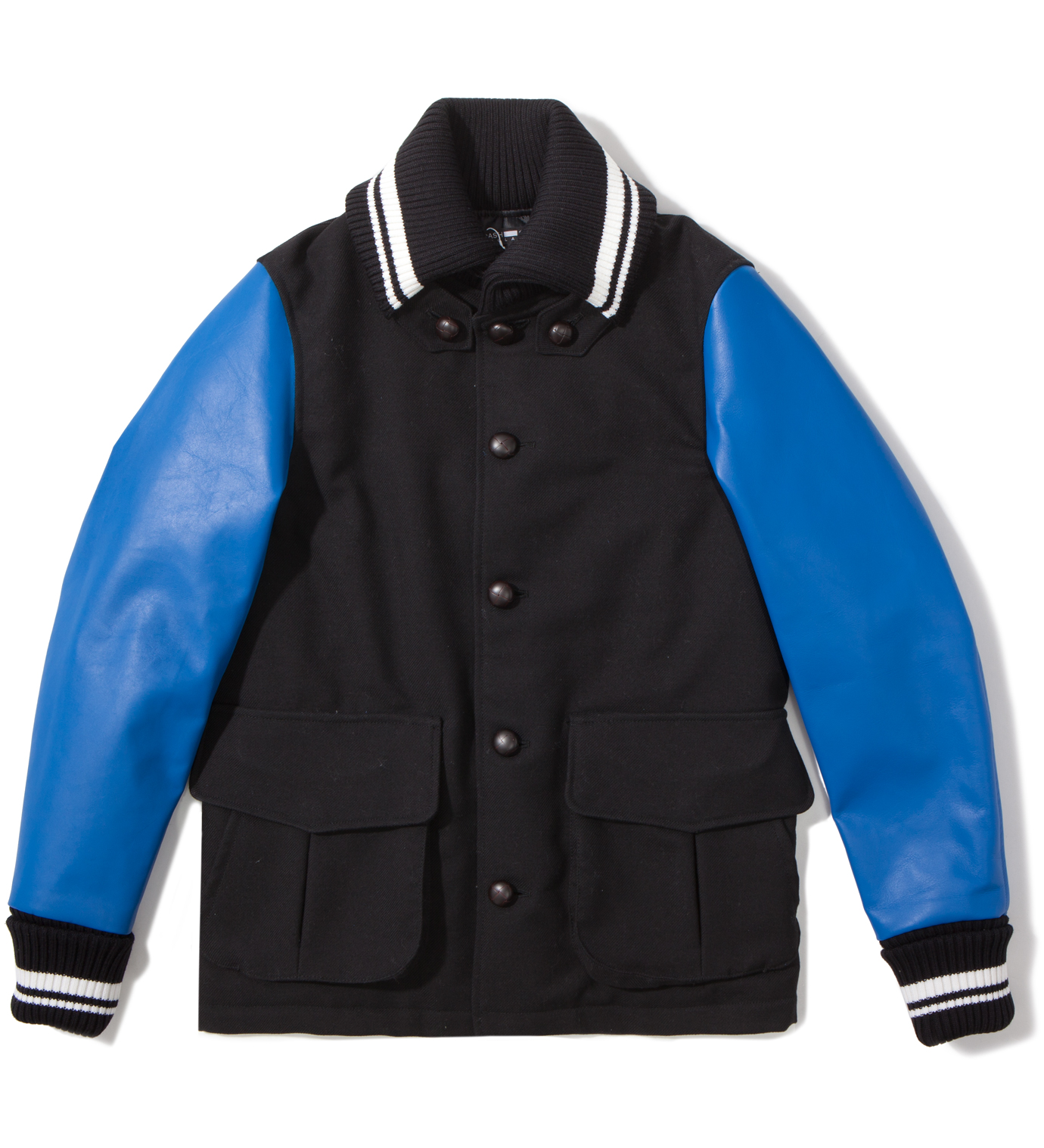 CASH CA Black Stadium Jacket