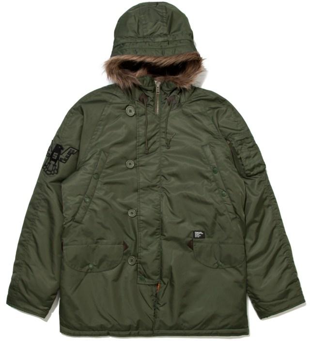 Stussy Olive Snorkel Jacket