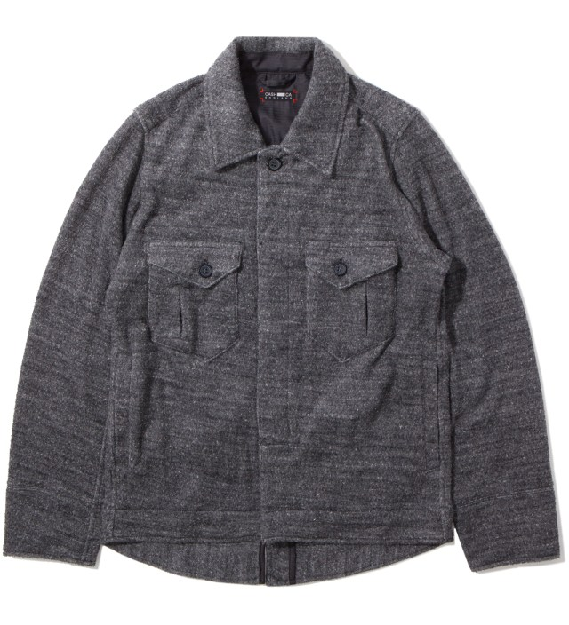 CASH CA Charcoal Pile Jacket