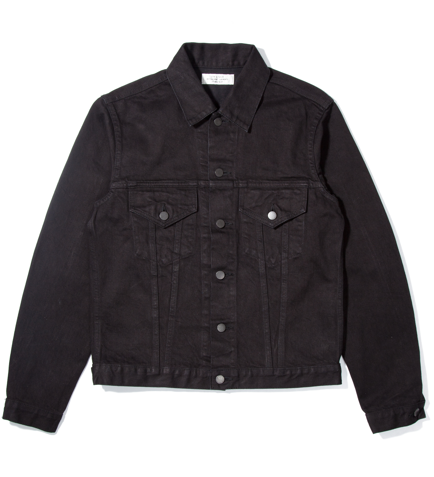UNUSED Black Denim Jacket