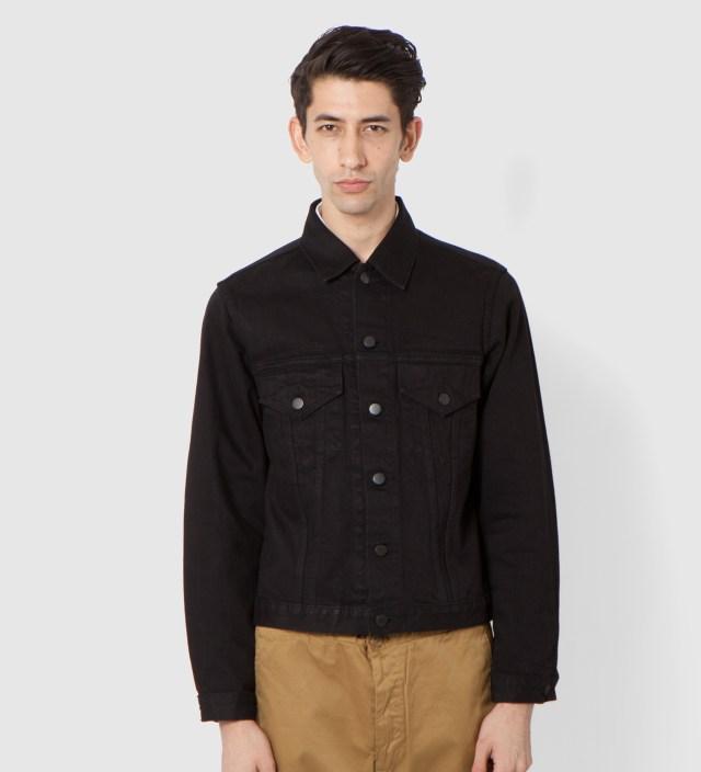 UNUSED Black Denim Jacket