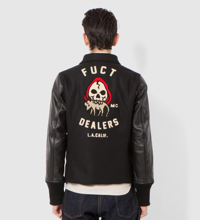 FUCT SSDD Black FUCT Dealers MC Jacket