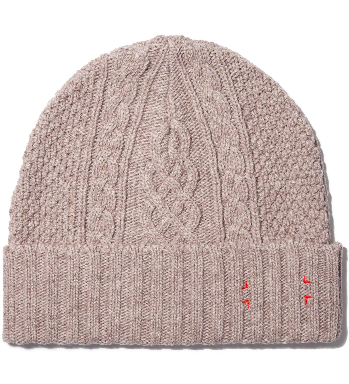 CASH CA Beige Knit Cap