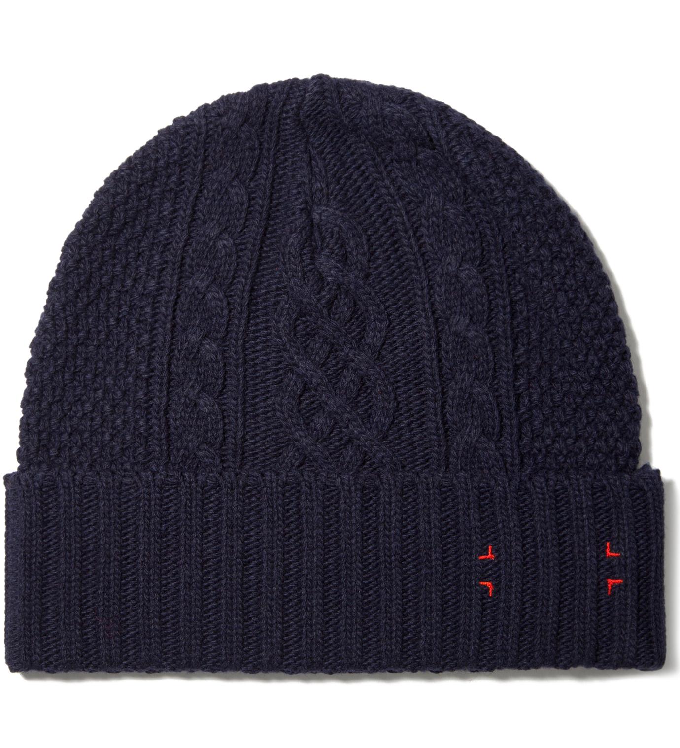 CASH CA Navy Knit Cap