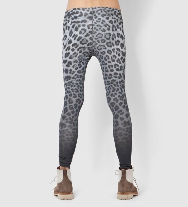 Facetasm Gray Leopard Leggings