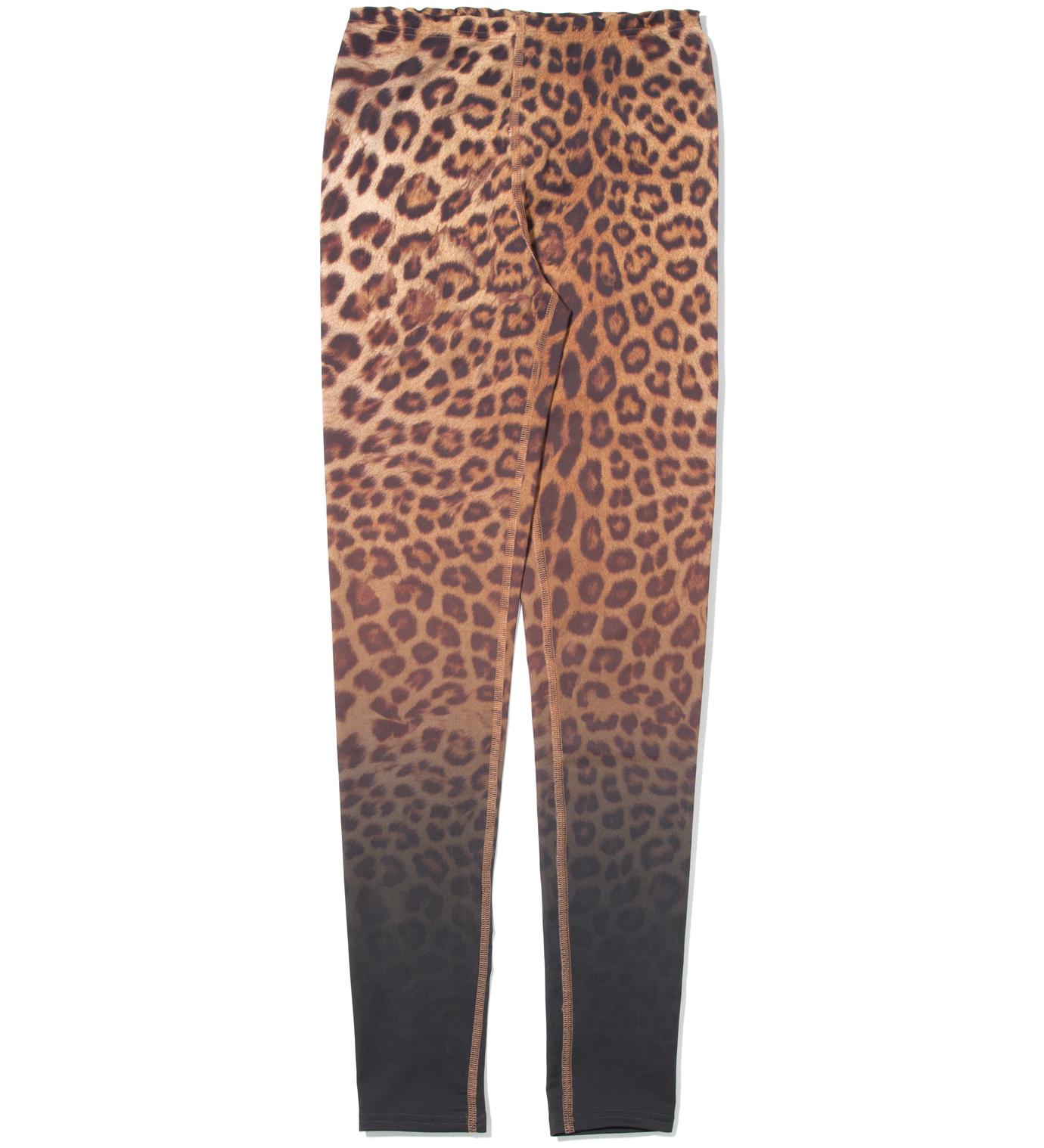 FACETASM Yellow Leopard Leggings