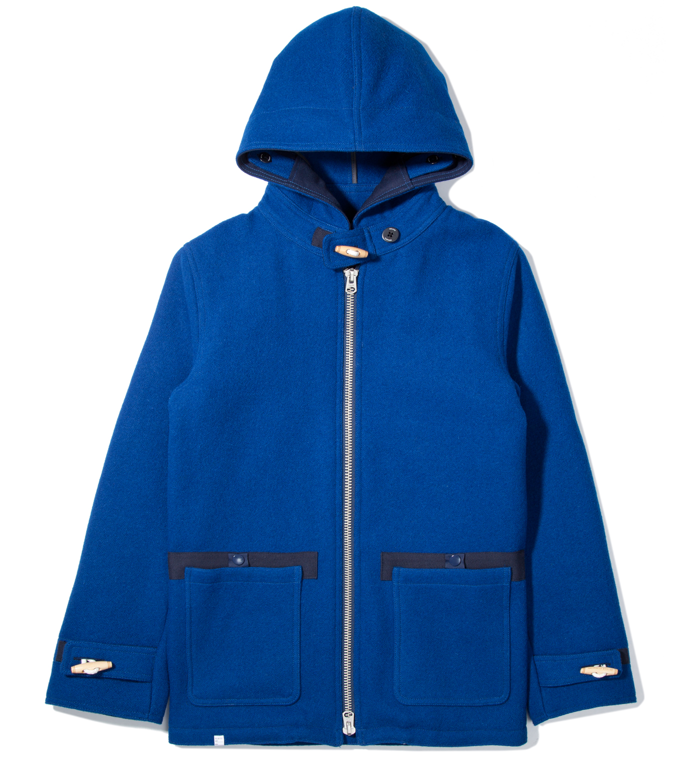 DELUXE Blue Long Journey Jacket