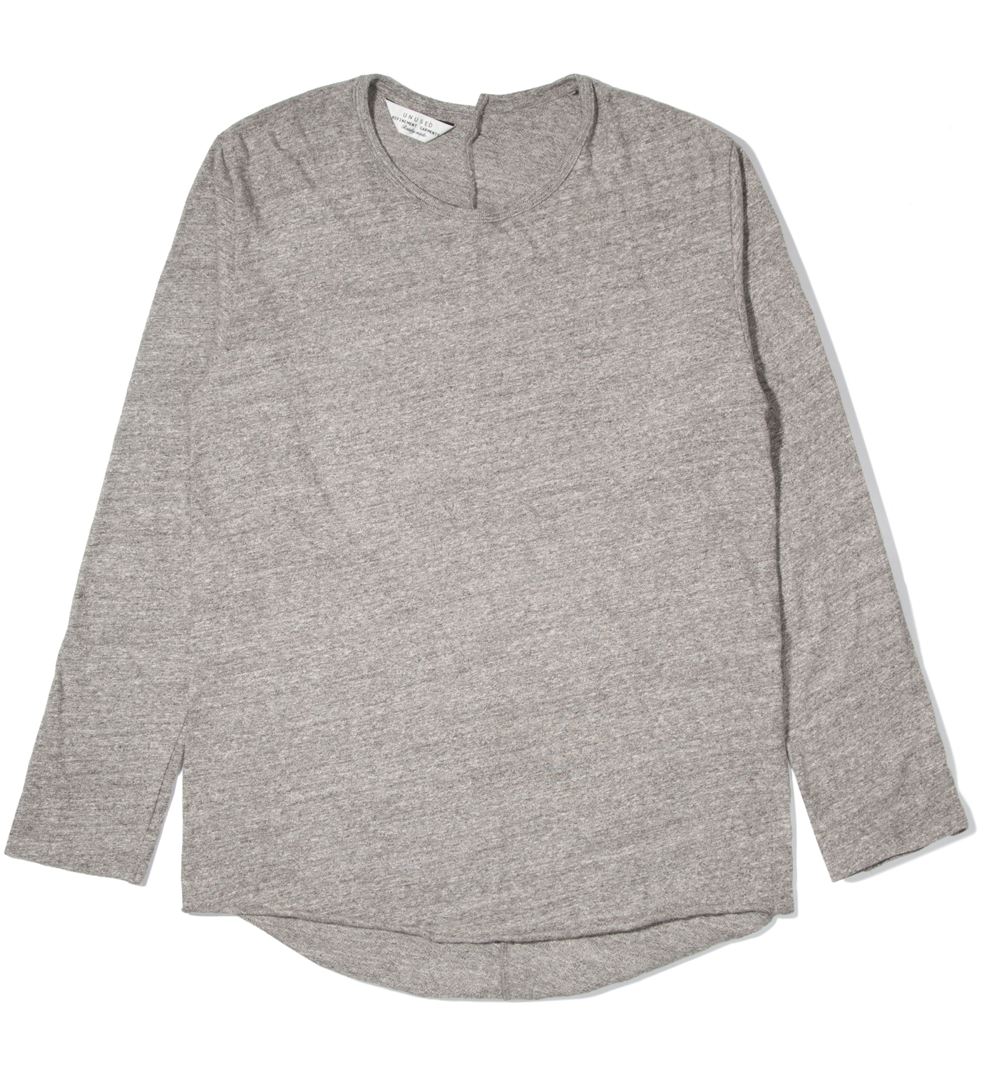 UNUSED Heather Grey Long Sleeve T-Shirt