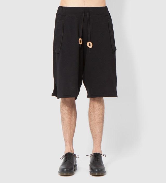 SILENT DAMIR DOMA Black Penya Jersey Short