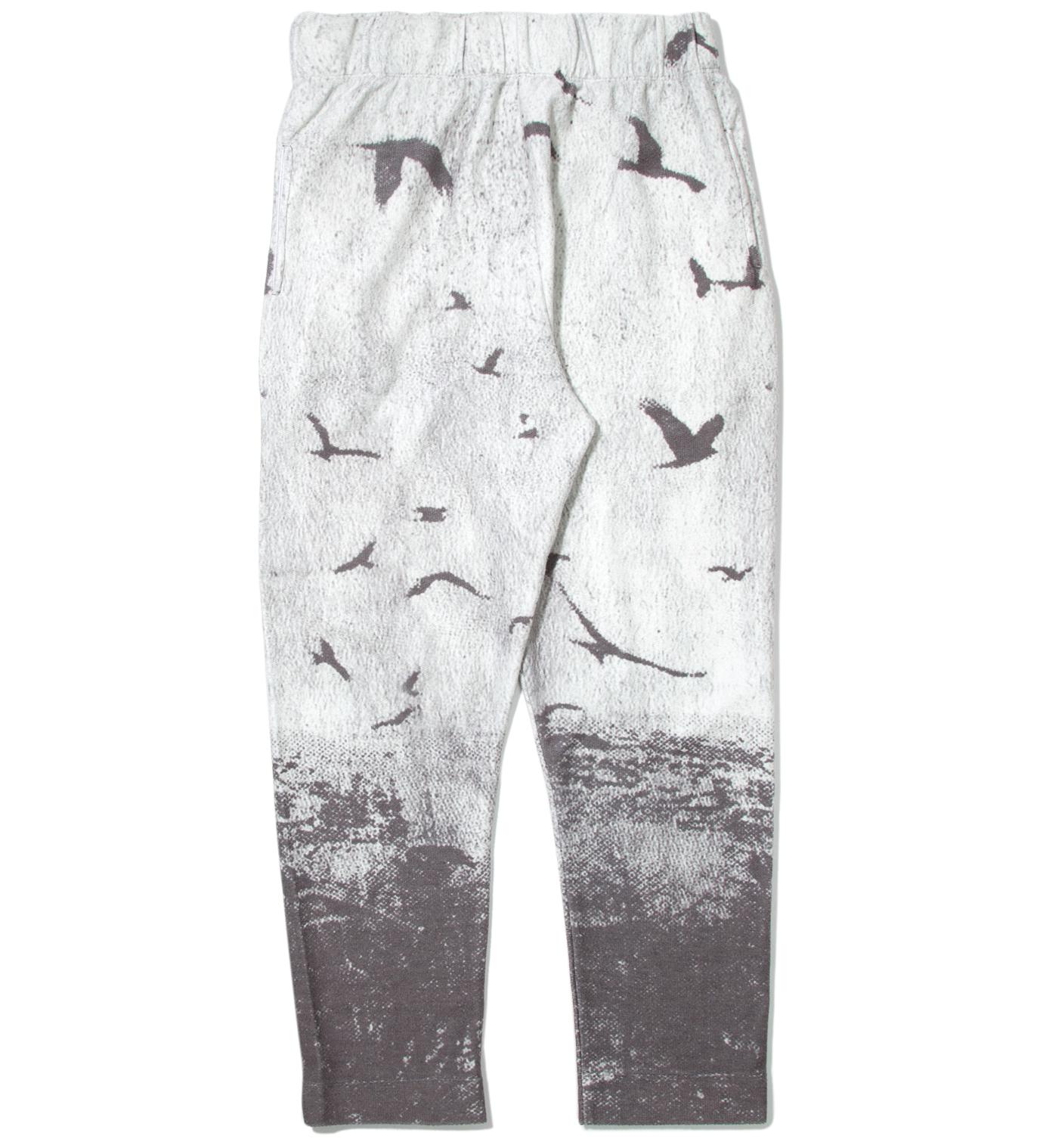 Tourne de Transmission White Blackbird Sweat Pants