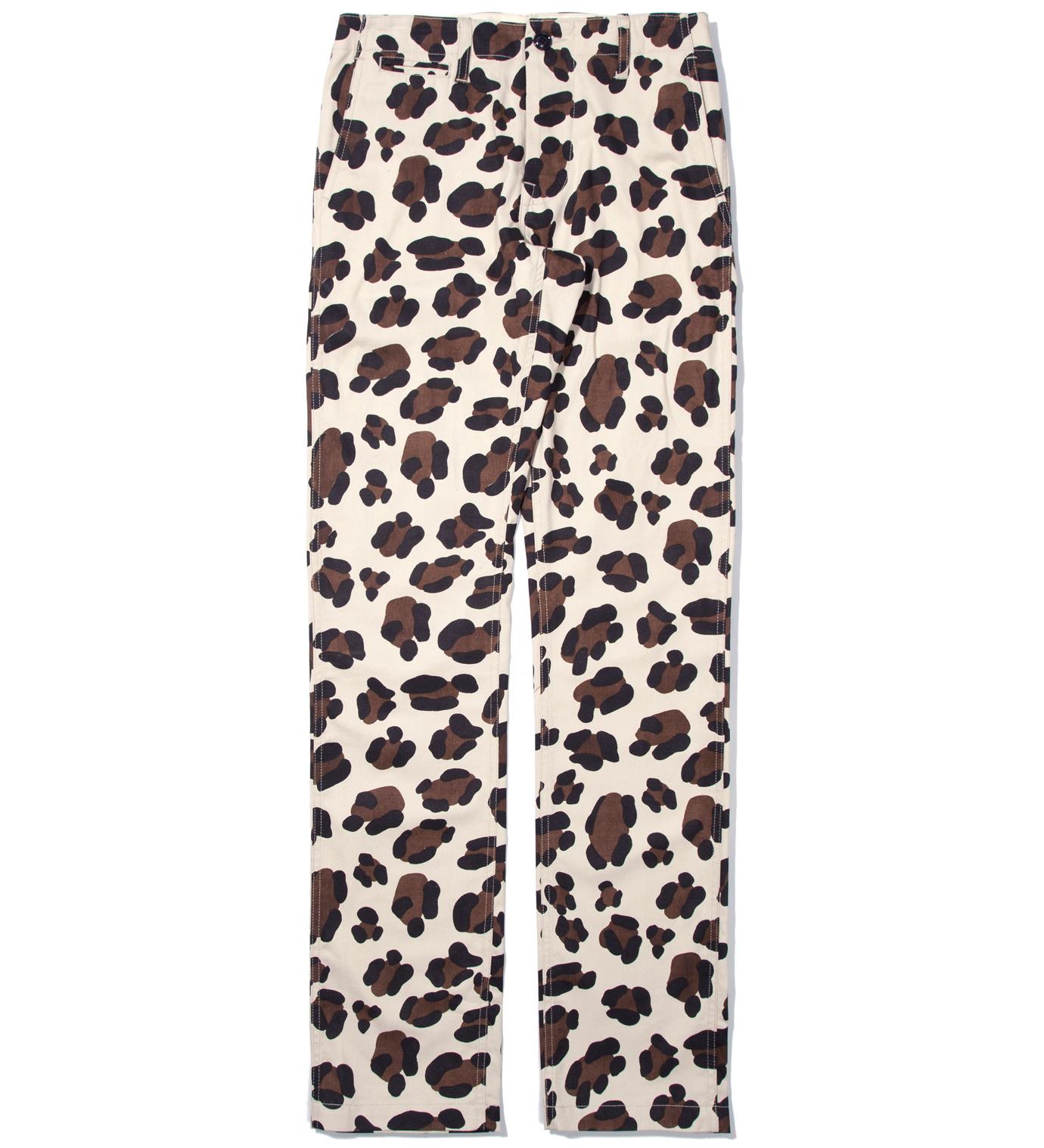 Mark McNairy Leopard Animal Chino Pant