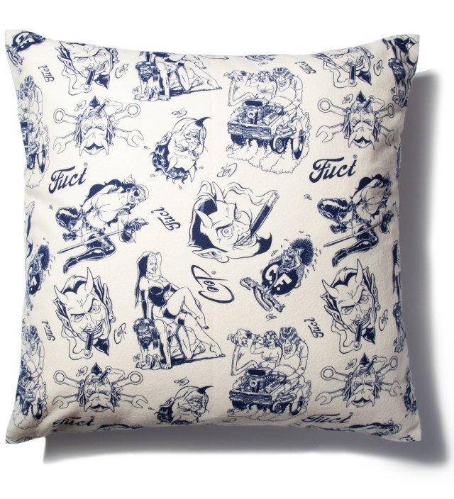 FUCT FUCT x COOP Off White Pillow