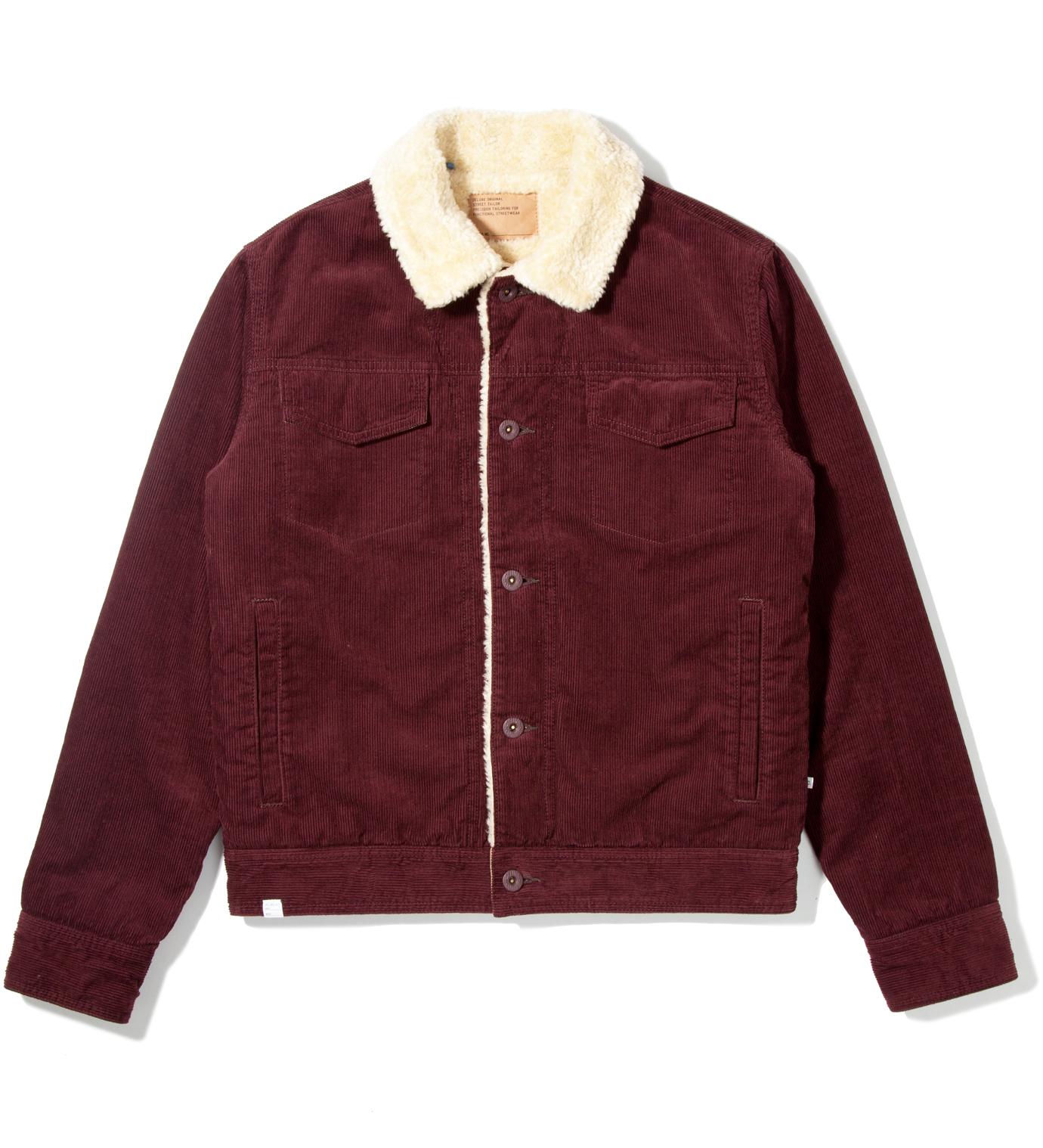 DELUXE Burgundy Rogue Jacket