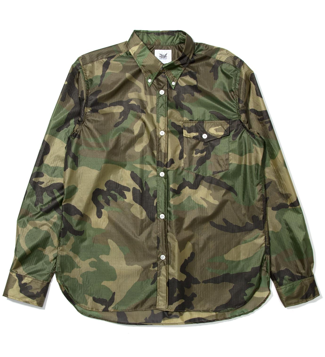 Mark McNairy Woodland Nylon BD Shirt