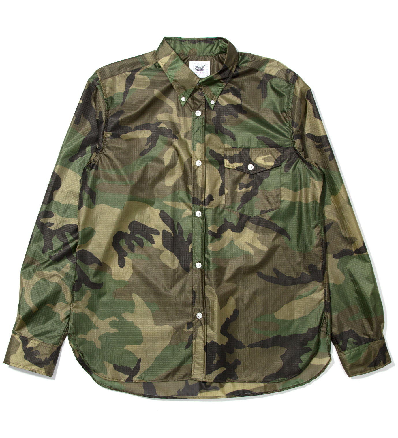 Mark McNairy Woodland Nylon BD Shirt