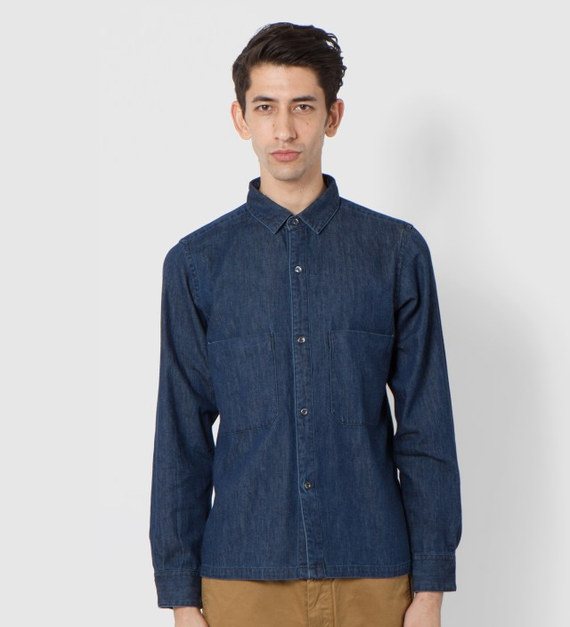 UNUSED Indigo Shirt