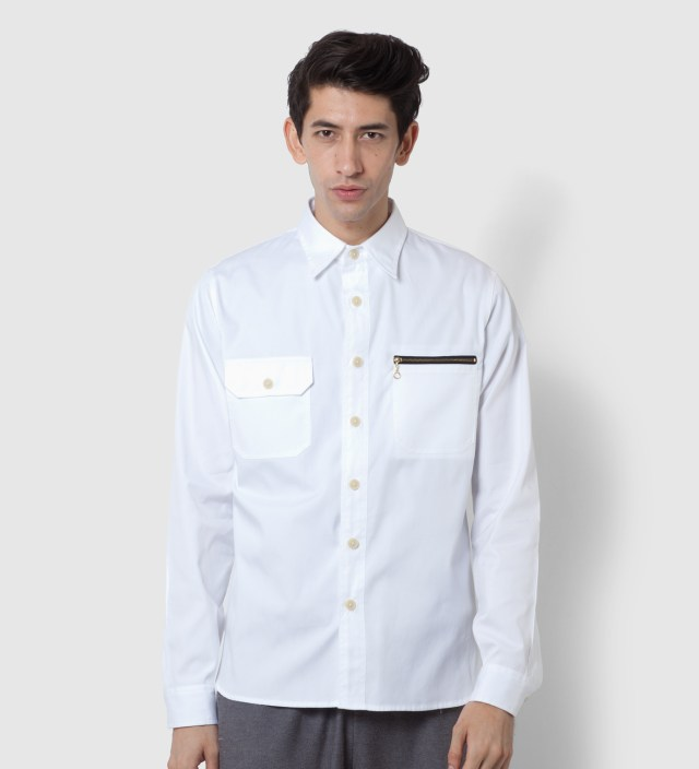 Mark McNairy White Ox Work Shirt
