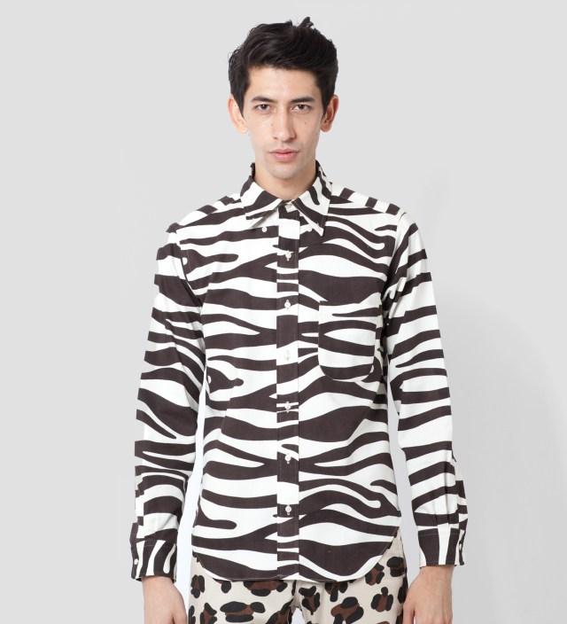Mark McNairy Zebra LS BD Shirt