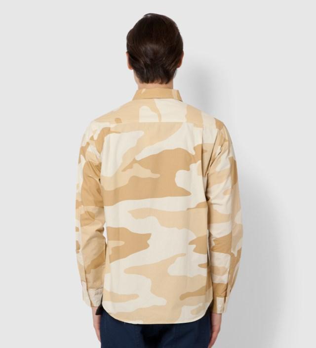 Stussy Khaki Storm Camo Shirt
