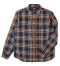Stussy Navy Coronado Plaid Shirt