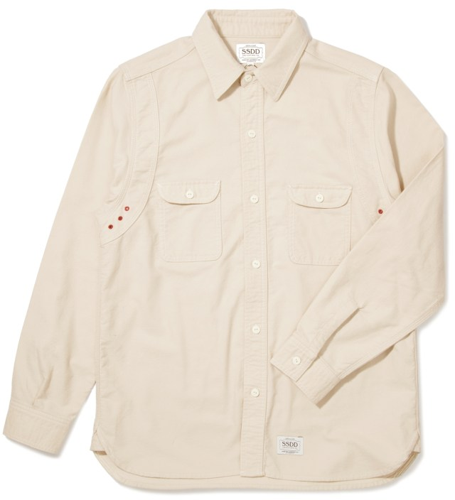 FUCT SSDD Off White SSDD Round York Flannel Shirt