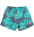Warriors of Radness Heron Blue Foliage Shorts