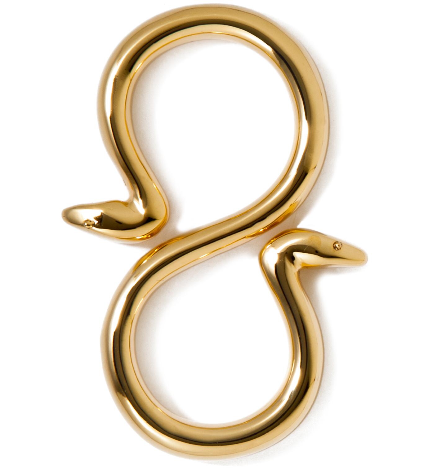 Mister Stevin Gold x Mister Gold Snake Hook