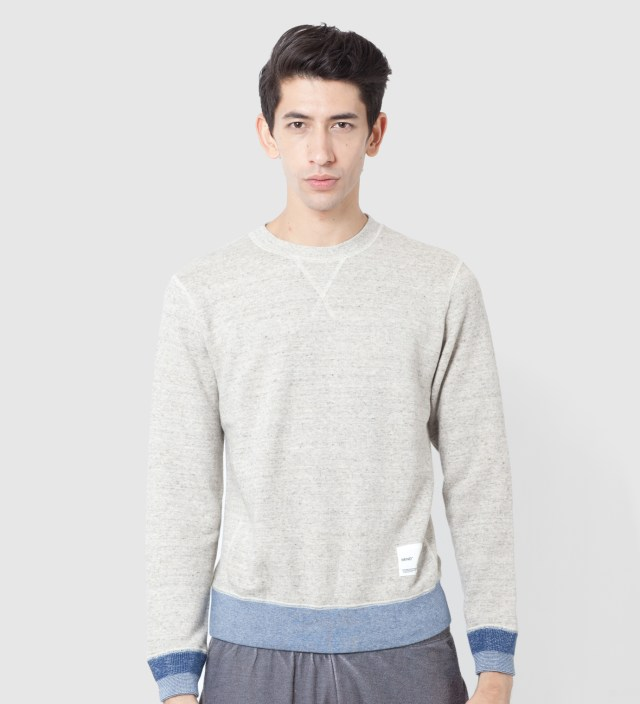 IMIND Beige Crew Neck Sweater