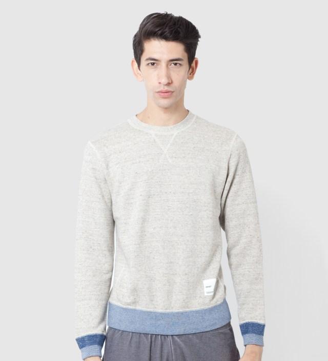 IMIND Beige Crew Neck Sweater